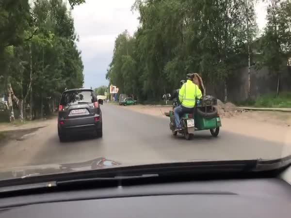 Setkání s medvědem v Rusku #26