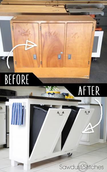 GALERIE - Nápady, jak využít starý nábytek