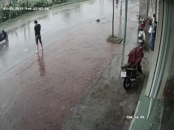 Močení na ulici se nevyplácí
