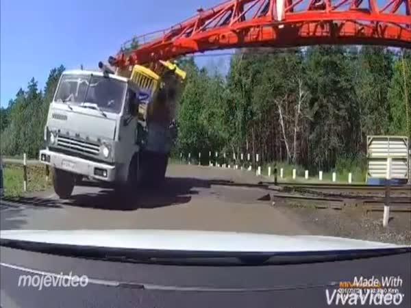 Rusko - Nehoda na železnici