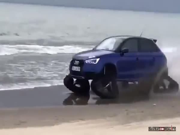 Plážové vozítko