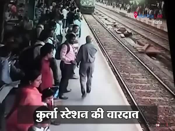 Přejel ji vlak, ale přežila