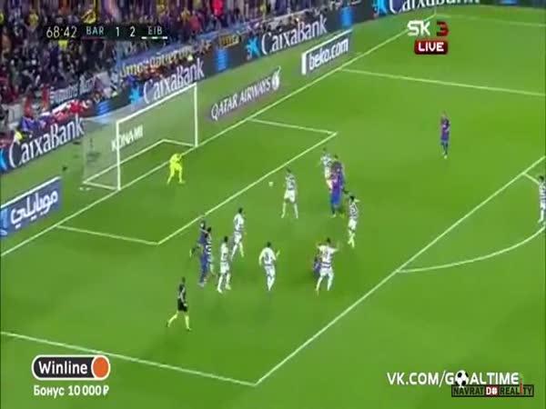 Šílené penalty pro Barcelonu