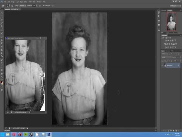 Jak oživit starou fotografii