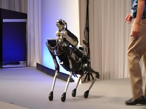 Prezentace robota Spot Mini