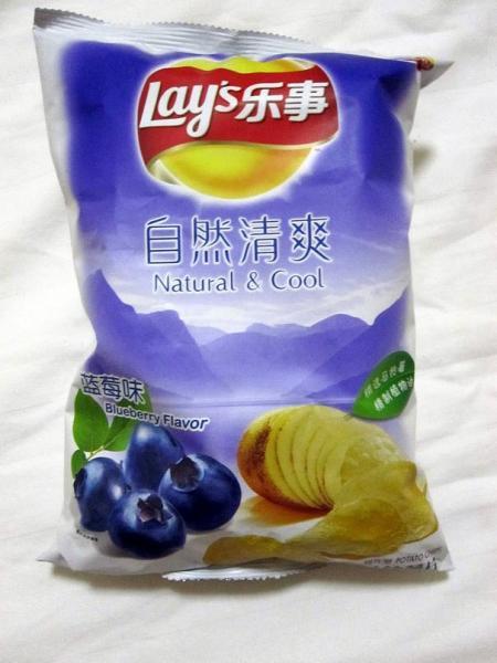 GALERIE - Nejdivnější příchutě chipsů 2