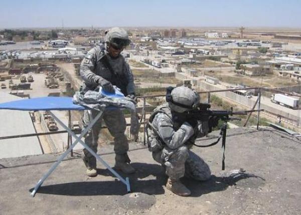 GALERIE - Když se vojáci nudí 1