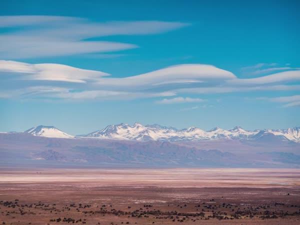 Timelapse – Poušť Atacama