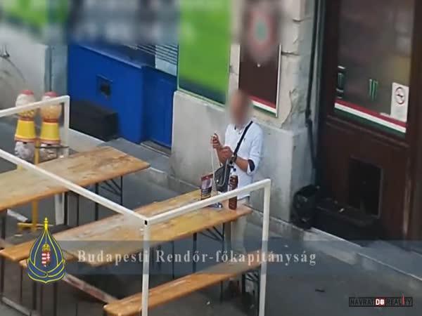 Zatčení drogového dealera v Maďarsku