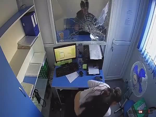 Přepadení banky v Kazachstánu