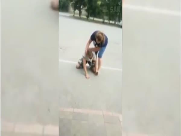 Nataša zatočila se zlodějem