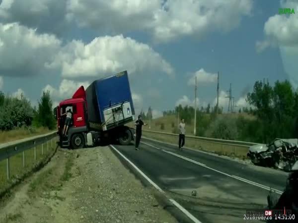 Dopravní nehoda v Rusku #580