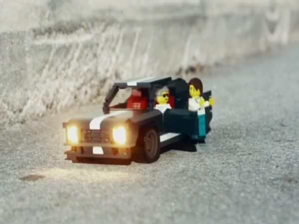 GTA a LEGO v jedné luxusní animaci