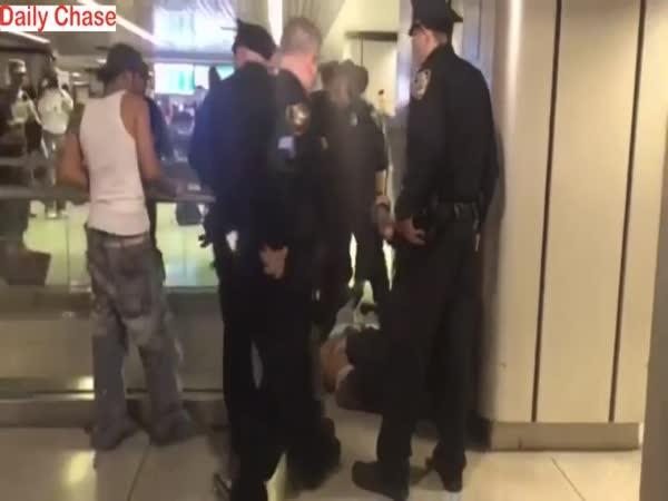 Panika na nádraží v New Yorku
