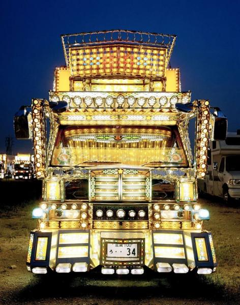 GALERIE - Náklaďáky v Japonsku