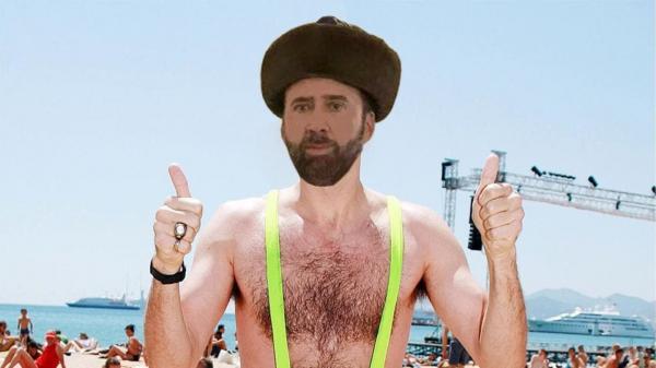 GALERIE - Nicolas Cage v Kazachstánu 1