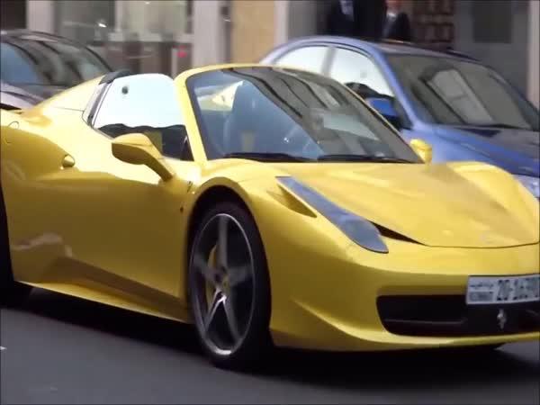 Konflikty lidí s luxusními vozy