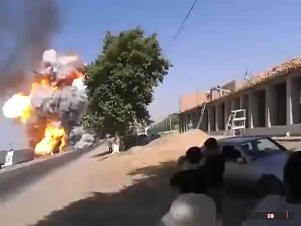 Výbuch benzínky v Tádžikistánu