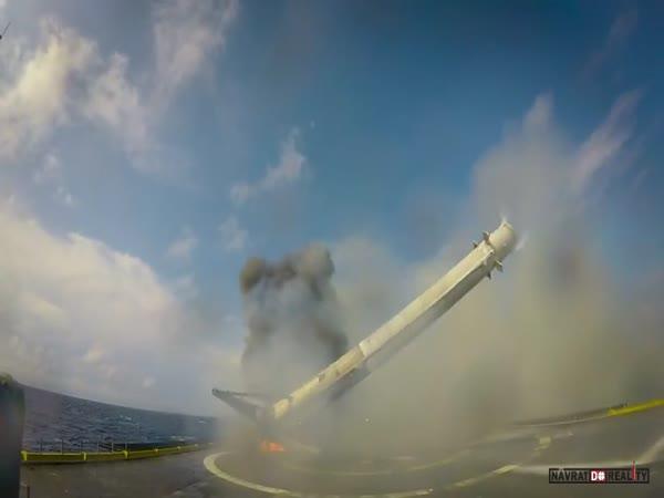 Starty a přistání Falcon 9