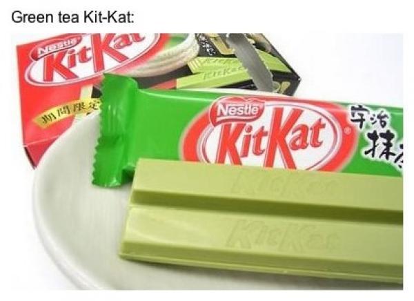 GALERIE - Divné příchutě KitKat