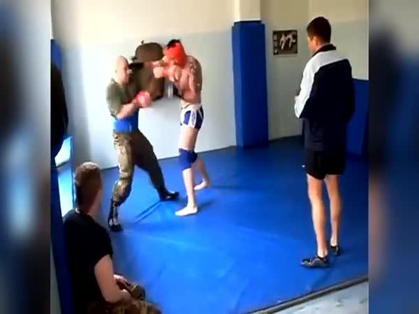 Výcvik ruské speciální jednotky