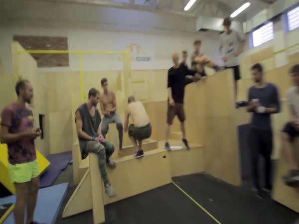 IMACON - Parkour soutěž o skillu