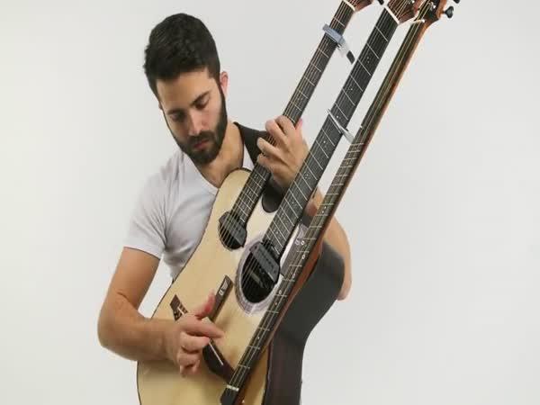 Akustický cover na trojitou kytaru