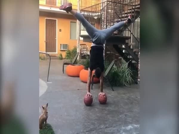 Balancování je jejich předností