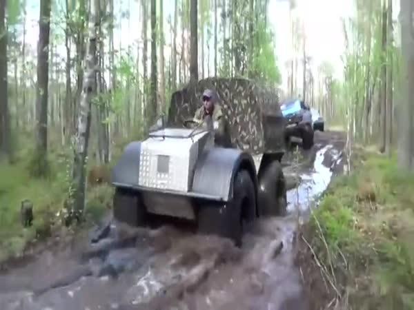 Ruské stroje do terénu