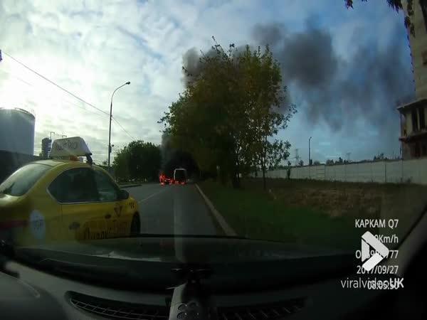 Dopravní nehoda v Rusku #585