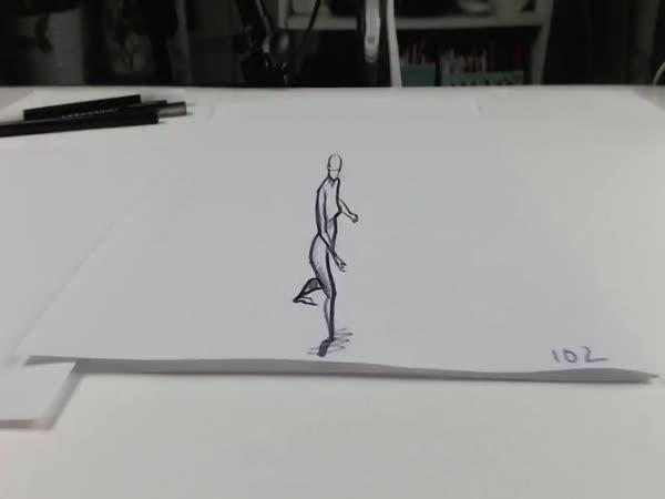 Tanečnice na papíru