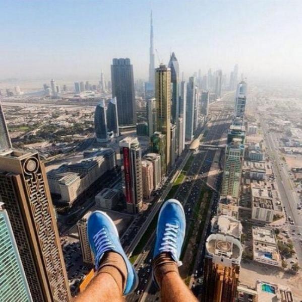 GALERIE - Lidé riskují kvůli selfie život