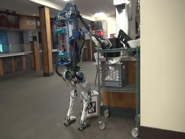 Z robota Atlase zatím kurýr nebude!