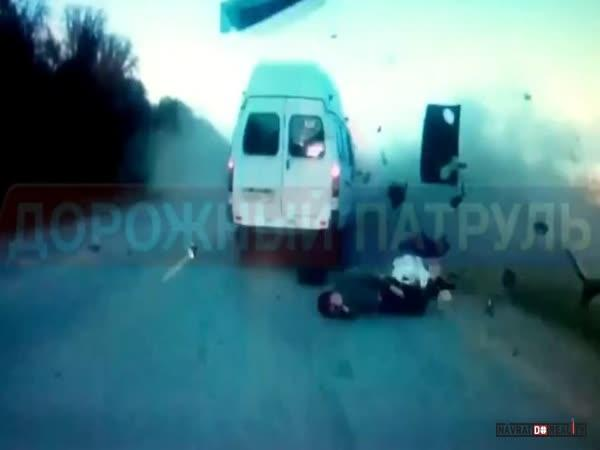 Dopravní nehoda v Rusku #582