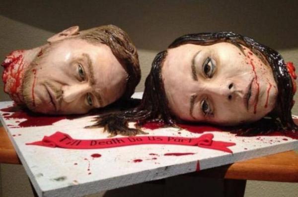 GALERIE - Originální svatební dorty