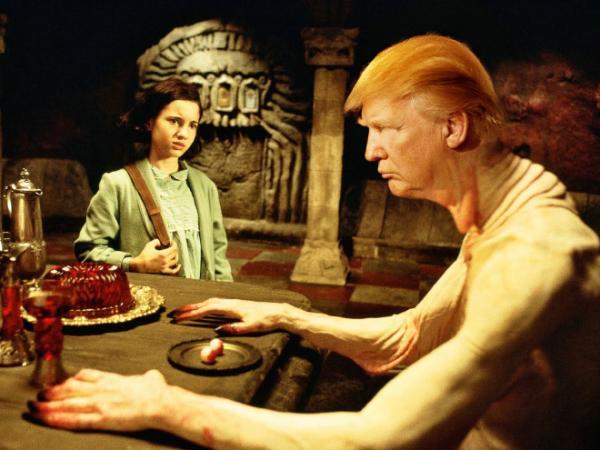 GALERIE - Donald Trump v hororech 2