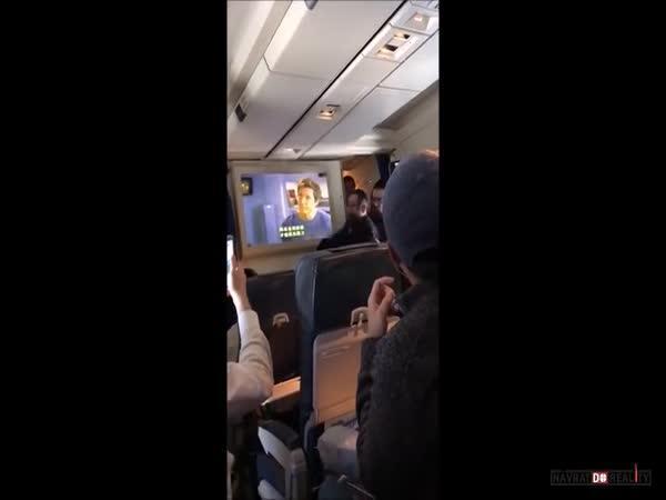 Ortodoxní židi v letadle