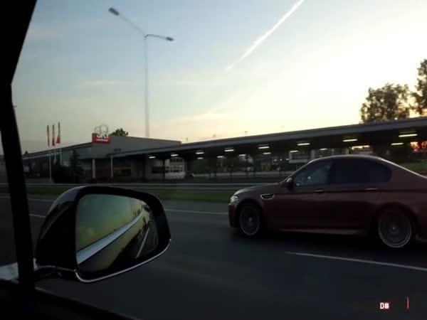 Tesla vs. BMW vs. kamión