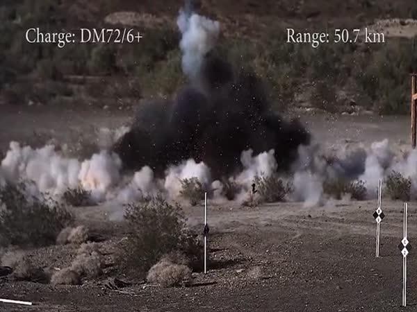 Střely, výbuchy, exploze