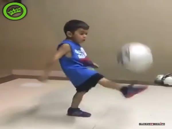 Fotbalový talent v Brazílii