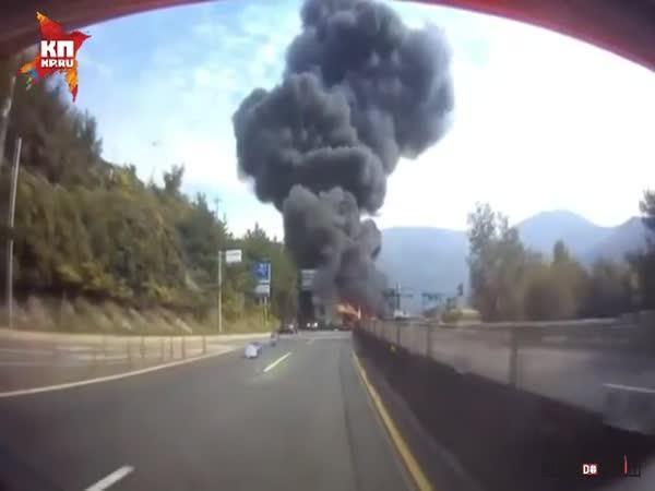 Dopravní nehoda v Koreji #589