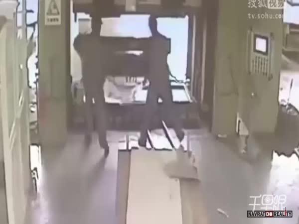 Pracovní nehoda v Číně #71