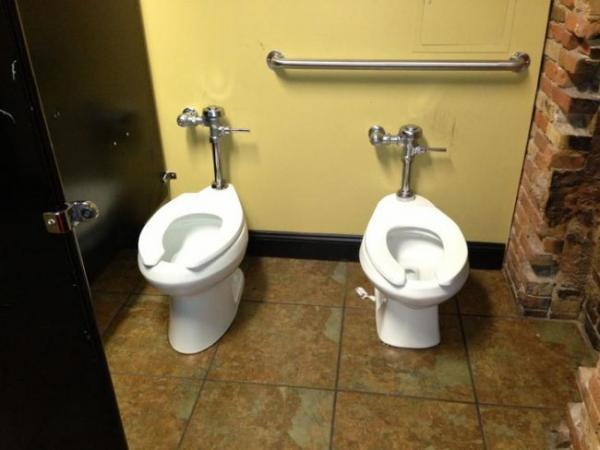 GALERIE – Totálně zpackané toalety