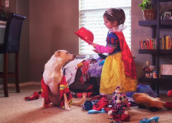 GALERIE - Silné pouto holčičky a psa