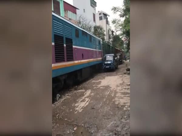 Špatné místo na zaparkování (Vietnam)