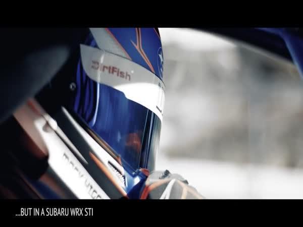 Subaru WRX STI na bobové dráze