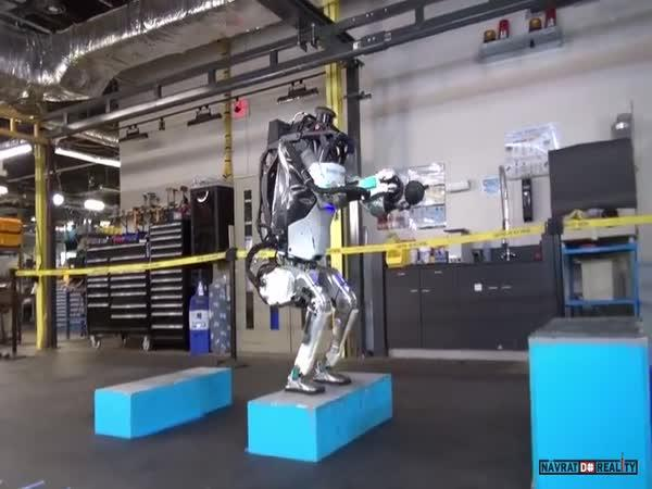 Robot od Boston Dynamics