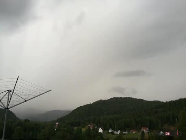 Čekání na blesk v Norsku