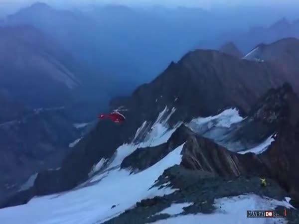 Nehoda vrtulníku v Alpách