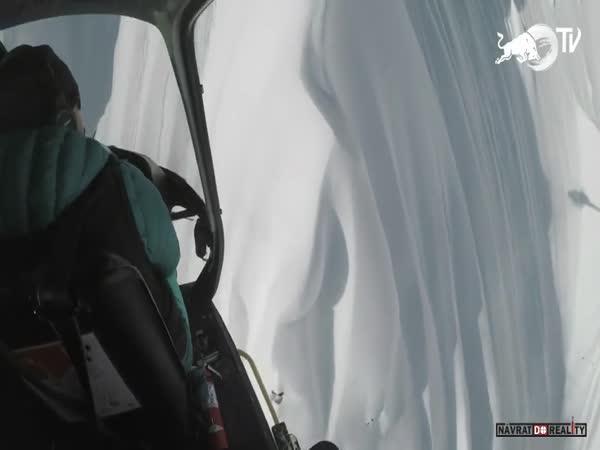 Freeride lyžování na Aljašce